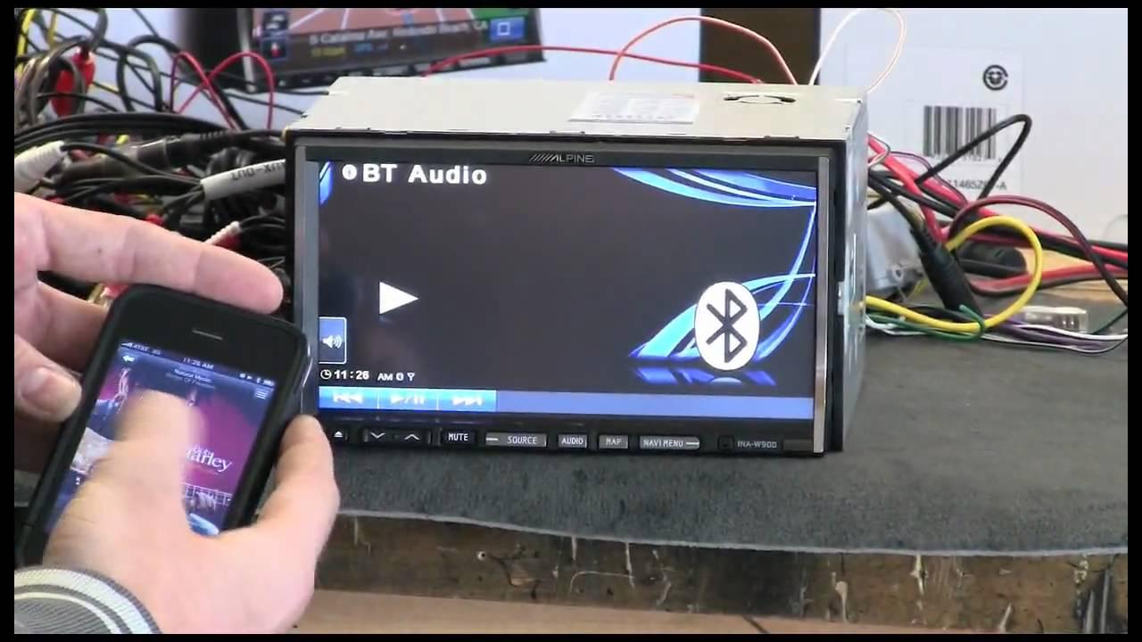 Alpine Ina-w900 Preview