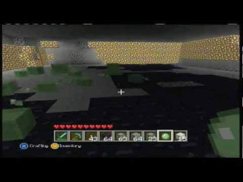 Minecraft Xbox 360 My Easy Slime Farm