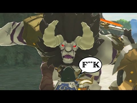 ALL LYNEL FORM FIGHTS RED/BLUE/WHITE/SILVER | The Legend of Zelda: Breath of the Wild