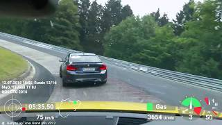 TT RS & Schnitzer ACS2 S | Rd 3/4 | Sportauto 2018 | Guided Driving | Directly behind Instructor