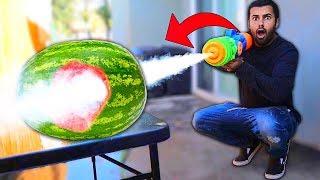 We Built DANGEROUS DIY Zombie Water Guns!! (APOCALYPSE SURVIVAL)
