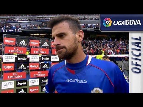 Entrevista a Javi Márquez tras el Real Madrid (3-0) Elche CF - HD