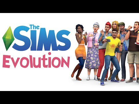The Sims Evolution – The Sims 1 - 4 Graphics Comparison