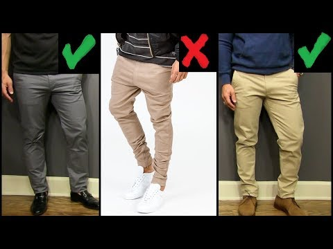 5 YOUNG MEN'S Style Tips | How To Wear Chinos BETTER Than All Of Your Friends