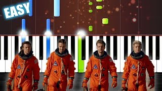 One Direction Drag Me Down EASY Piano Tutorial by PlutaX Synthesia