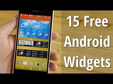 15 FREE Android widgets you must have