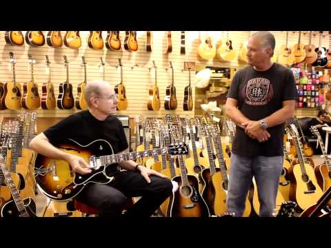 Dean Parks at Norman's Rare Guitars