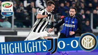 Juventus - Inter 0-0 - Highlights - Giornata 16 - Serie A TIM 2017/18