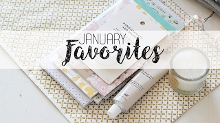 January Favorites + giveaway