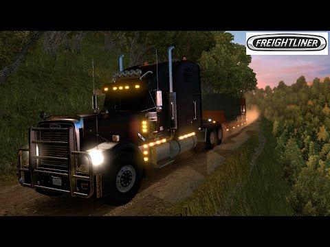 American Truck Simulator | Caminos Extremos Off Road EUA | Freightliner Classic XL