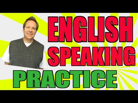 English Speaking Practice: How You Can Become More Fluent In English video
