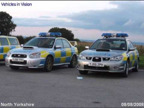 British vs American Police Cars