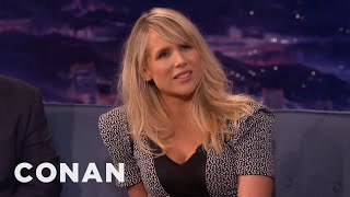 Lucy Punch On How She Named Her Baby Boy  - CONAN on TBS