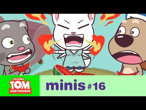 Talking Tom and Friends Minis - Summer Heat (Episode 16)
