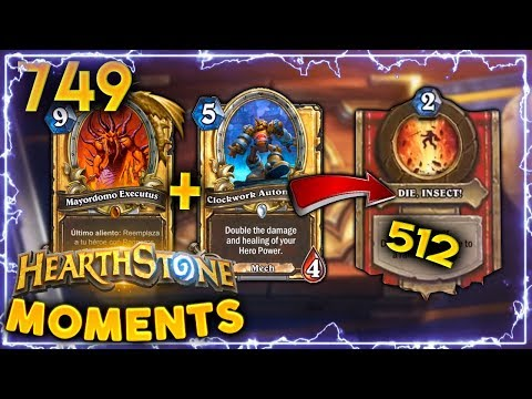 512 EZ WOMBO COMBO CHICKEN DINNER!! | Hearthstone Daily Moments Ep. 749