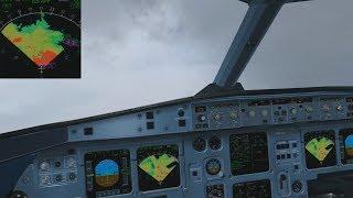 REX Sky Force 3D | Bad Weather Arrival into Cologne/Bonn [FSX|DX10]