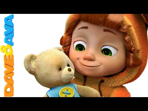 Teddy Bear, Teddy Bear, Turn Around | Nursery Rhymes and Baby Songs from Dave and Ava