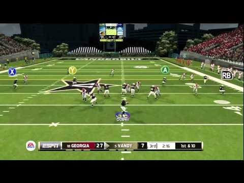NCAA Football 2014: Bulldog Fighting With a Commodore
