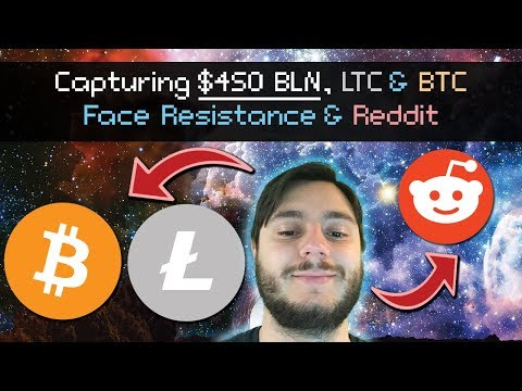 Gains Continued! Bitcoin Closing in on 10k, Litecoin Testing Resistance, $450 Billion and More