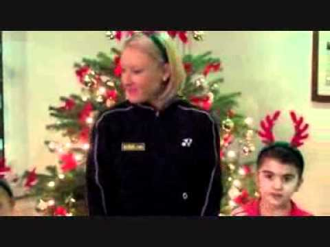 Merry Christmas from Bally and everyone at the Elena Baltacha Academy of Tennis