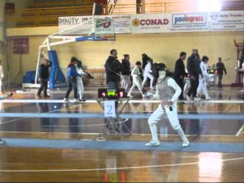 Terza prova G.P.G. – Modica 11 marzo 2012 Fioretto Bambine quarti di finale e semifinale