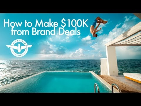 How to make $100K from Brand Deals