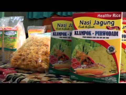 Corn rice Beras Jagung Instant Makanan Sehat Pengganti Beras