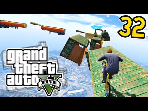 MILE HIGH IMPOSSIBLE! Olli43 vs Geo23 - Episode 32 (GTA 5 Funny Moments!)