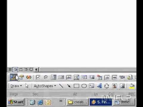 microsoft word 2003 how to turn page landscape