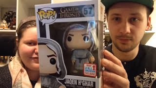 Unboxing #104 Jaqen h'ghar - Game Of Thrones - 2017 Fall Convention Exclusive - Funko Pop!
