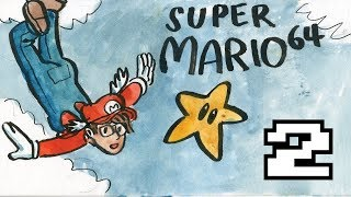 Super Mario 64 | Let's Play pt 2 | Queer Girl Gaming
