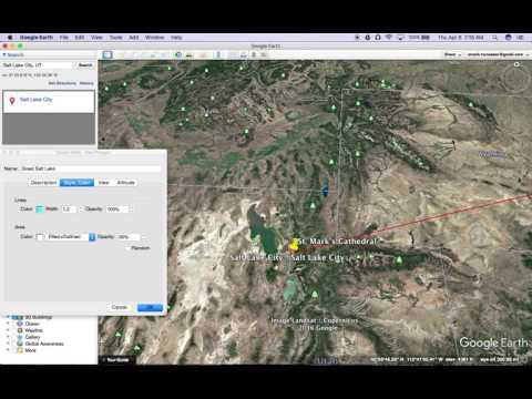 Google Earth Tutorials--Polygon Tool