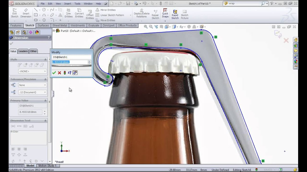 how to make a cover in solidworks