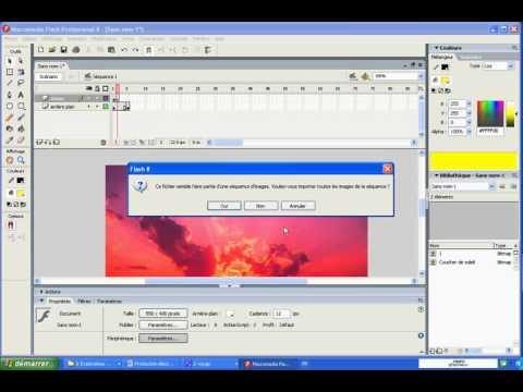 Macromedia Flash 8 - TP8 Animation image par image