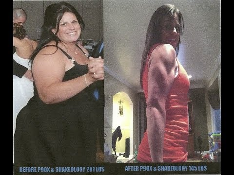 P90X RESULTS UPDATED!  138 lbs lost transformation