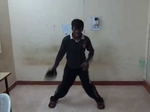 Pondicherry University Srinivasa accidental  dance for Rikshavodu...