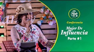 Nancy Amancio - Mujer De Influencia (Conferencia) Parte #1