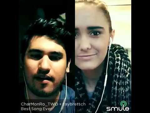 Best song ever - One Direction cover (CharMonRo_TWO - taybretsch) Smule sing karaoke PoPfix