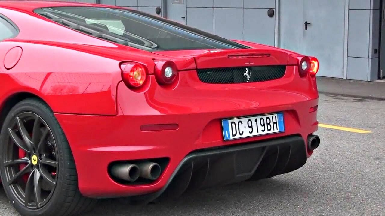 ferrari f430 with straight pipes exhaust insane sound youtube. Black Bedroom Furniture Sets. Home Design Ideas