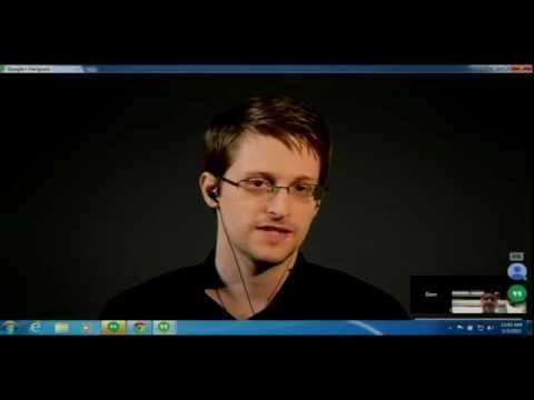 CITP/LAPA/WWS Special Event: Edward Snowden in Conversation with Bart Gellman