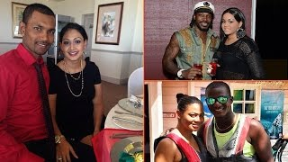 Top 10 Famous West Indies Cricketers With Their Beautiful Wives | West Indies Cricket Team