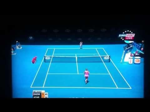 Radwańska - Azarenka 6:1 Australian Open 2014