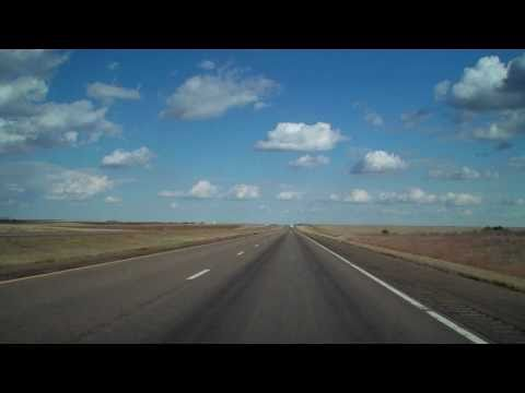 BURLINGTON, CO to SALINA, KS I-70 Time Lapse  10/11/10