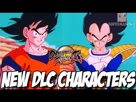 BASE GOKU & BASE VEGETA NEW DLC! - Dragon Ball FighterZ: Base Goku & Base Vegeta Revealed