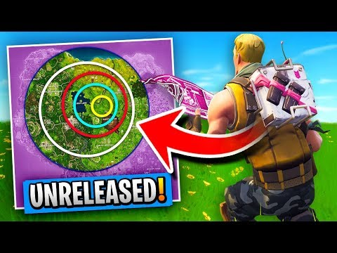 *UNRELEASED* STORM TRACKER BACKPACK Gameplay In Fortnite Battle Royale