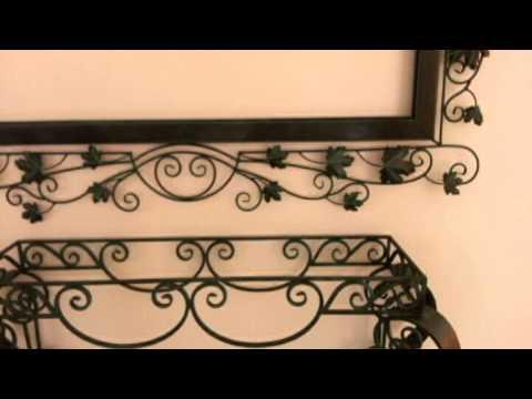 Herreria instalacion espejo forja creativa puebla hierro for Espejos con marcos decorativos