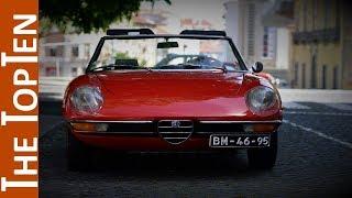 The Top Ten Best Classic Alfa Romeo Models