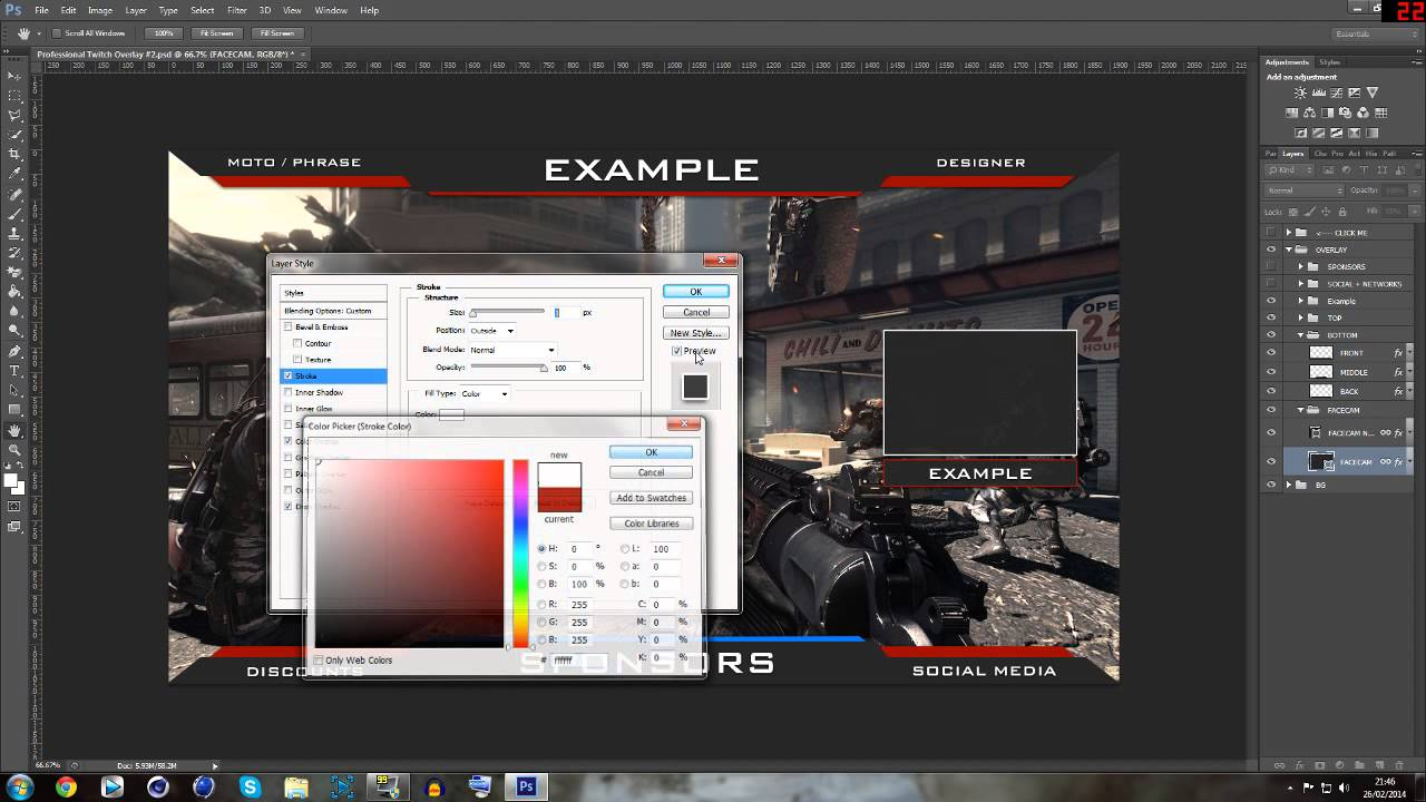 Twitch overlay template psd 6748521 hitori49fo overlay template r3d cam psd by freepsd twitch dlc maxwellsz