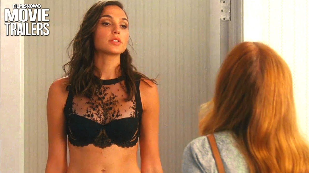 Gal Gadot dons lacy lingerie in trailer for the spy-comedy Keeping Up With The Joneses