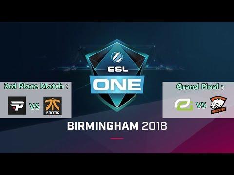 [English] Grand Final - Virtus Pro vs OpTic Gaming (BO5) - ESL ONE Birmingham
